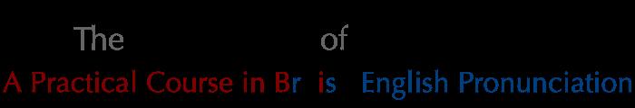 british english received pronunciation pdf