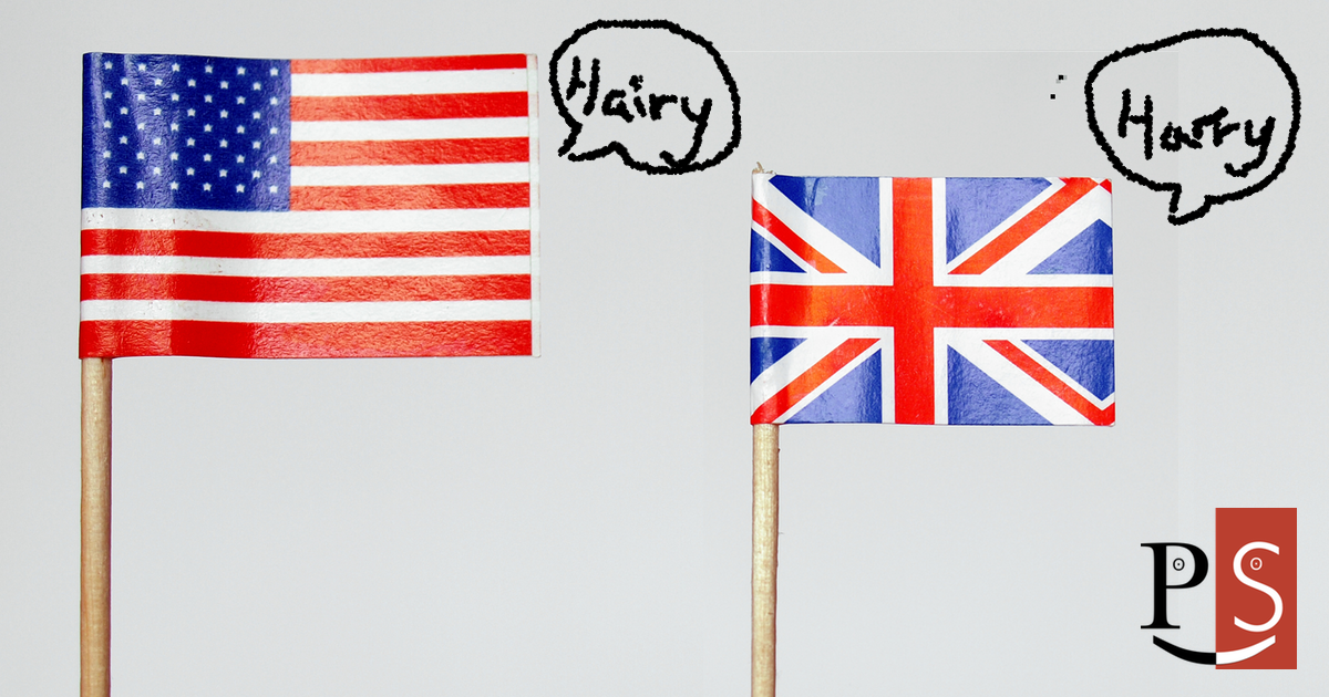American vs British Pronunciation